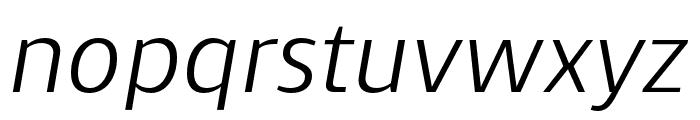 Skrinia Medium Italic Font LOWERCASE
