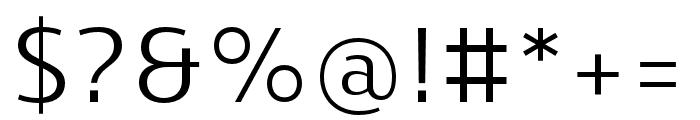Skrinia Medium Font OTHER CHARS