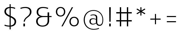 Skrinia Regular Font OTHER CHARS