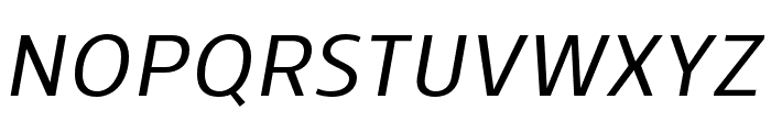 Skrinia Semibold Italic Font UPPERCASE