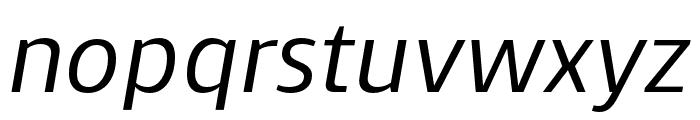 Skrinia Semibold Italic Font LOWERCASE