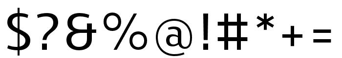 Skrinia Semibold Font OTHER CHARS