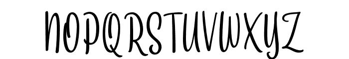 SkynovaScript Font UPPERCASE
