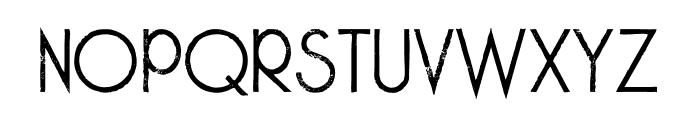 Skywalker Grunge Font UPPERCASE