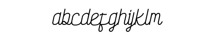 Society Script Font LOWERCASE