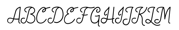 SocietyScript Font UPPERCASE