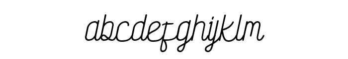 SocietyScript Font LOWERCASE