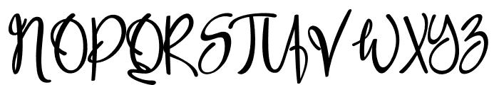 Spice Wallet Font UPPERCASE