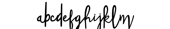 Spice Wallet Font LOWERCASE