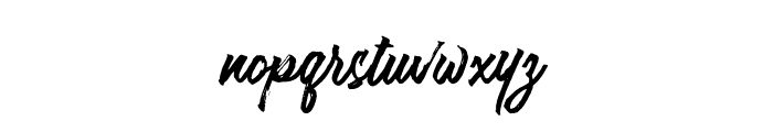 Stellar-Regular Font LOWERCASE