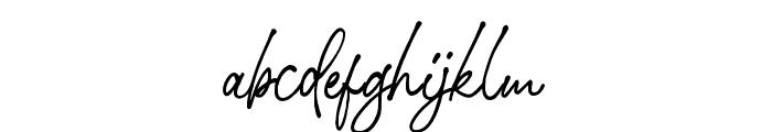StephenGillion-Bold Font LOWERCASE