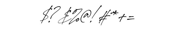 StephenGillion-Italic Font OTHER CHARS
