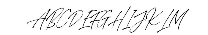StephenGillion-Italic Font UPPERCASE