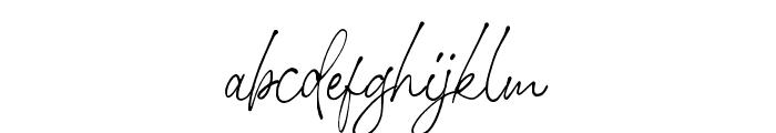 StephenGillion Font LOWERCASE