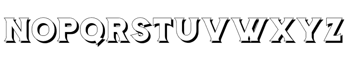 Storehouse-Shadow Font UPPERCASE