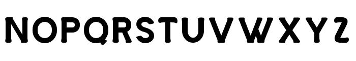 Storehouse-Used Font LOWERCASE