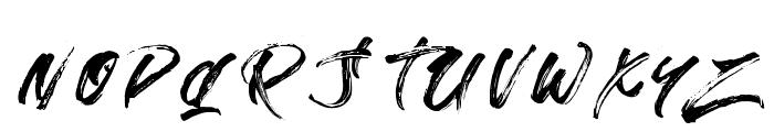 StradeEqrem Font UPPERCASE