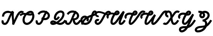 Sunborn-Script Font UPPERCASE