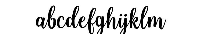 SweetnessScript Font LOWERCASE
