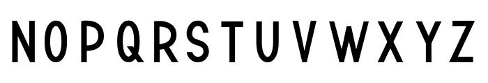 TF Continental Regular Font UPPERCASE