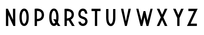 TF Continental Regular Font LOWERCASE