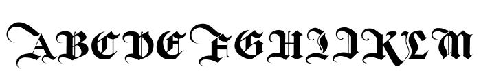 The Bjorke Font UPPERCASE