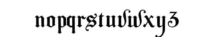 The Bjorke Font LOWERCASE