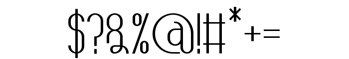 TheAthletica-Bold Font OTHER CHARS