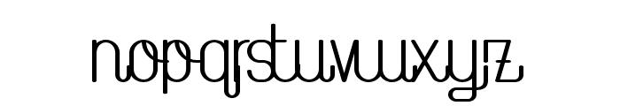TheAthletica-Bold Font LOWERCASE