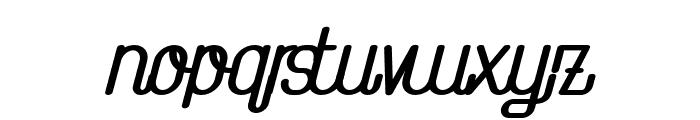 TheAthletica-ExtraBlackItalic Font LOWERCASE