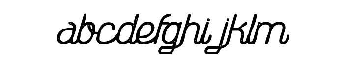 TheAthletica-Letterpress Font LOWERCASE