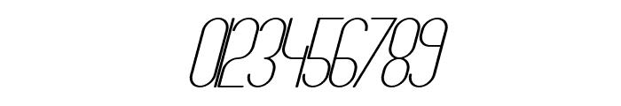 TheAthletica-MediumItalic Font OTHER CHARS