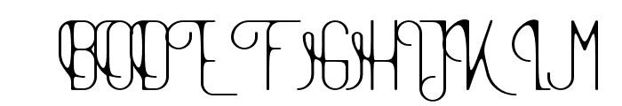 TheAthletica-Smooth Style Font UPPERCASE