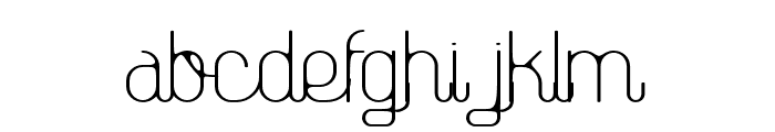 TheAthletica-Smooth Style Font LOWERCASE