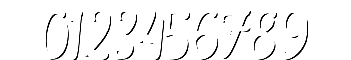 TheSalvadorScript-LightShadow Font OTHER CHARS