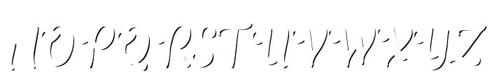 TheSalvadorScript-LightShadow Font UPPERCASE