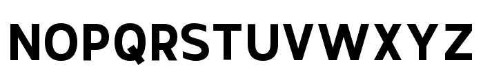 Thommy-Bold Font UPPERCASE