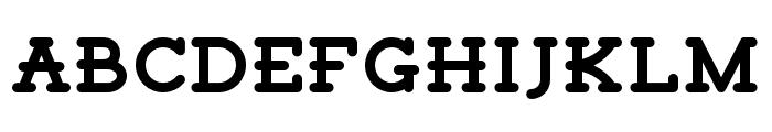 Tigreal Font UPPERCASE