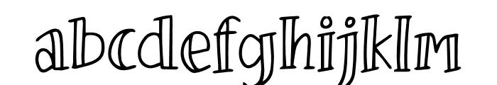 Tizart Font LOWERCASE
