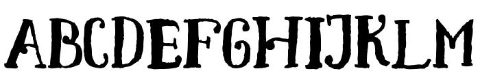 Toxine Font UPPERCASE