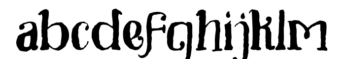 Toxine Font LOWERCASE