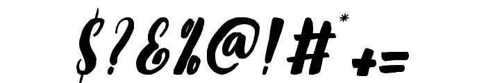 TropicaIslandScript Font OTHER CHARS
