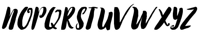 TropicaIslandScript Font UPPERCASE