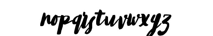 TropicaIslandScript Font LOWERCASE