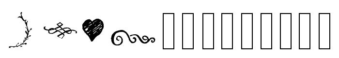 Tropical Dingbat  Font UPPERCASE