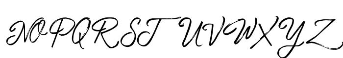Tropical Hard Brush Font UPPERCASE