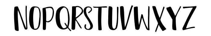 Tropical Sans Font UPPERCASE