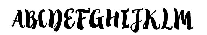 TropicalBrushScript Font UPPERCASE