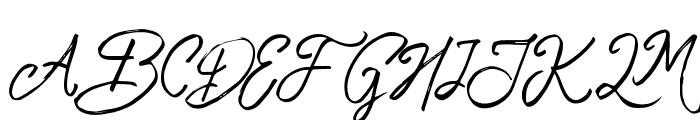 TropicalHardBrush Font UPPERCASE