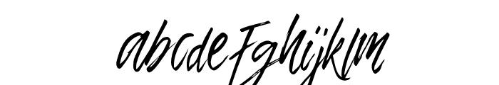 TropicalHardBrush Font LOWERCASE